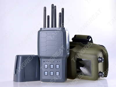 Cell phone jammers enforcement | Classic Handheld Eight-way Vehicle Jammer For Car GPS Tracker And GSM Tracker Signals