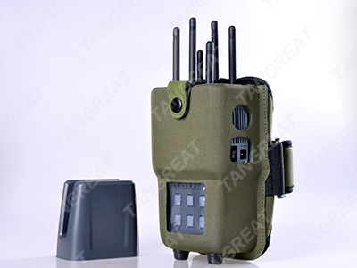 Cell phone frequency blocker , military backpack jammer blocker